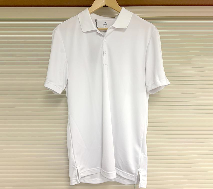 Men's White Polo